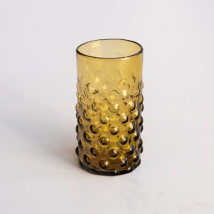 decorative olive green glass