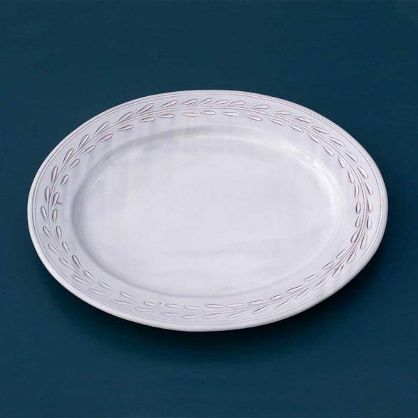 Ceramic carved platter