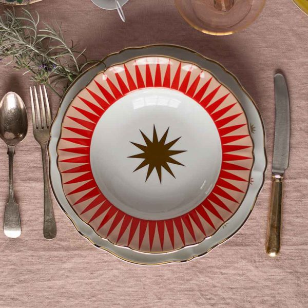 Bitossi Baleno ceramic decorative bowl
