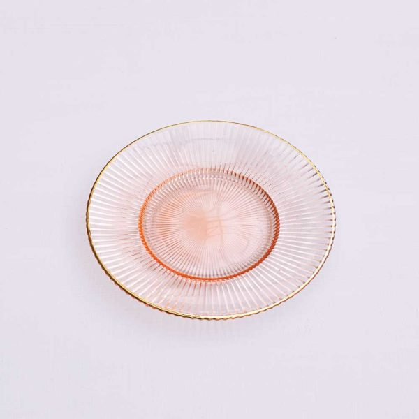 PINK PASTRY PLATE
