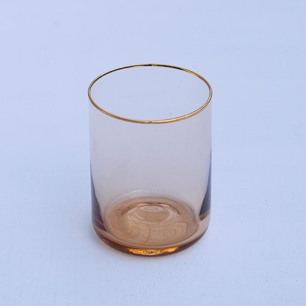 &KLEVERING WATERGLASS GOLD PASCALE STORE