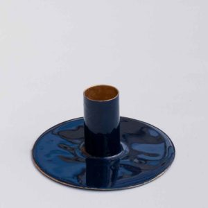 SMALL NAVY CANDLE HOLDER PASCALE STORE