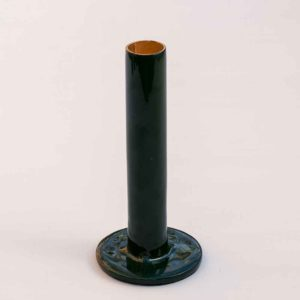 TALL GREEN CANDLE HOLDER PASCALE STORE