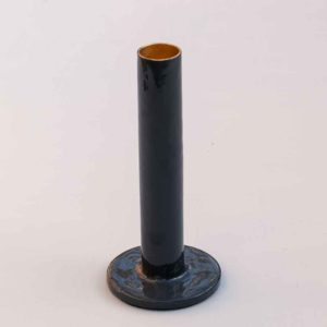 TALL GREY CANDLE HOLDER PASCALE STORE