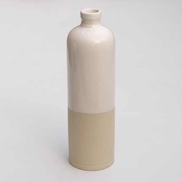 CERAMIC BOTTLE BLANC