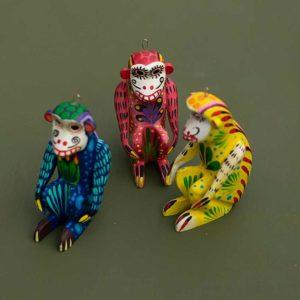 tienda esquipulas colourful ornament monkey