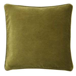 Lizard velvet cushion