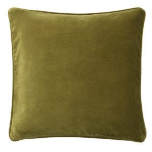 Lizard velvet cushion