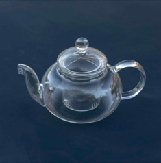 A glass teapot from Pascale Store