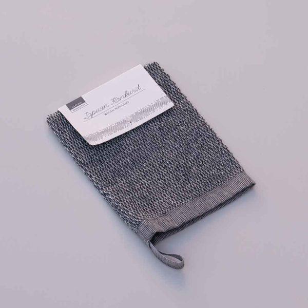 LAPUAN KANKURIT Linen/ cotton Scrub Mitt_1